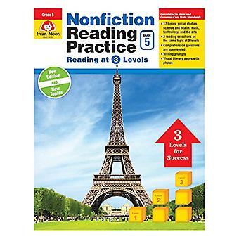Fack litteratur Läs övning, årskurs 5 (nonfiction Reading Practice)