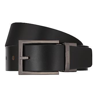 MIGUEL BELLIDO cintura girare cintura uomo cintura in pelle cintura nero/Cognac 8002