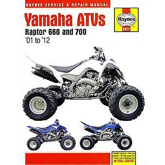 Yamaha Raptor 600 & 700 ATV Automotive Repair Manual by Editors of Ha