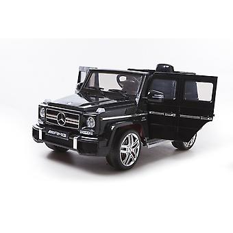Licensed Mercedes Benz AMG G63 12V Electric Ride On Car Black 3 Years+