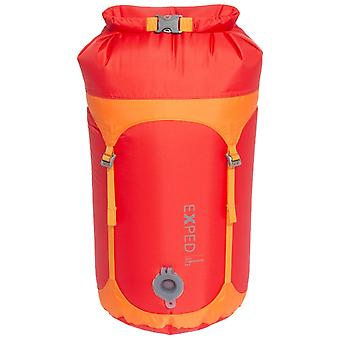Exped Red 100% Waterproof Telecompression Bag Small