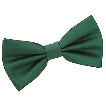 Emerald vihreä Plain shantung valmiiksi sidottu solmuke