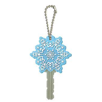 PVC Key Chain - Disney - Frozen - Snow Flake 3D Soft New Licensed 22227