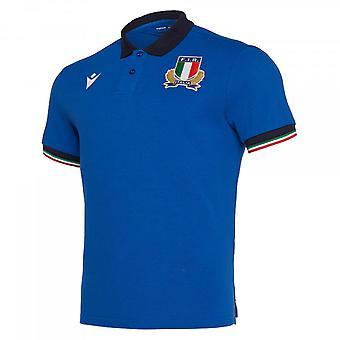 2019-2020 Italie Accueil Cotton Rugby Shirt