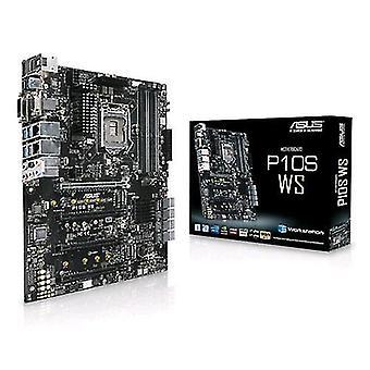 ASUS p10s WS moederbord vorm ATX socket LGA 1151 chipset Intel c236 4 DIMM-sleuven DDR4