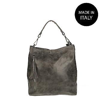 Handbag made in leather 80054