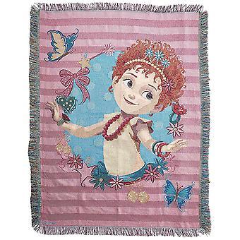 Woven Tapestry Throws - Fancy Nancy - Mademoiselle New 024035