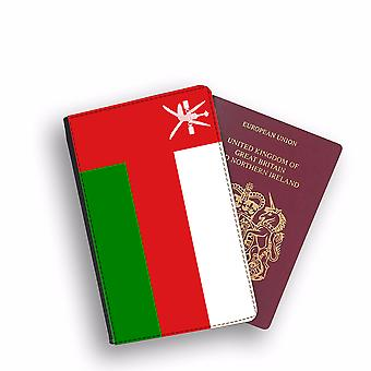OMAN Flag Passport Holder Style Case Cover Protective Wallet Flags design