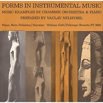 William Geib - Forms in Instrumental Music: Music Examples by Chamber Orchestra & Piano [CD] USA import