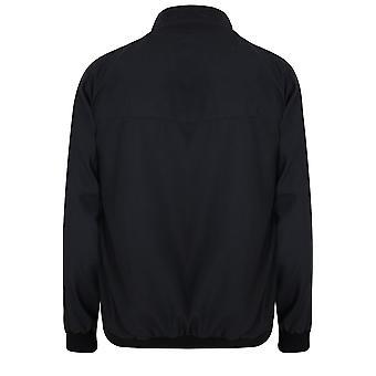 BadRhino leggero nero giacca Bomber con Zip senza zeri iniziali