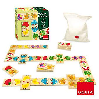 Goula Macro Domino (Toys , Boardgames , Traditionals)