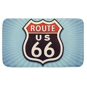 Wenko bathmat vintage route 66 (Bathroom accessories , Carpets)