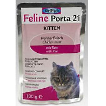 Porta21 Chicken for Kittens (Cats , Cat Food , Wet Food)