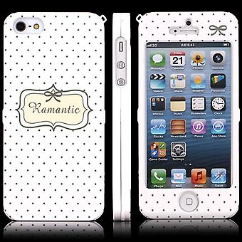 Cover with two Romantic pieces for iPhone 5