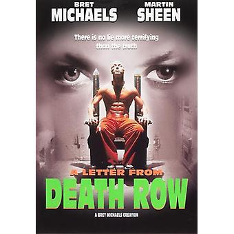 A Letter from Death Row Movie Poster (11 x 17)