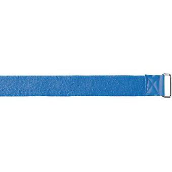 Hook-and-loop tape with strap Hook and loop pad (L x W) 7000 mm x 50 mm