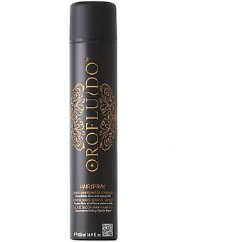 Revlon Golden Fluid Hairspray 500 Ml (Woman , Hair Care , Hairstyling , Hairspray)
