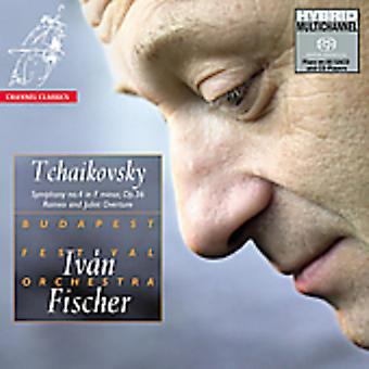 P.I. Tchaikovsky - Tjajkovskij: Symfoni nr. 4; Romeo og Juliet Overture [SACD] USA importerer