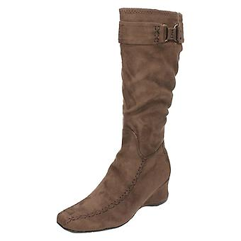 Damskie Spot na kolana wysokie buty