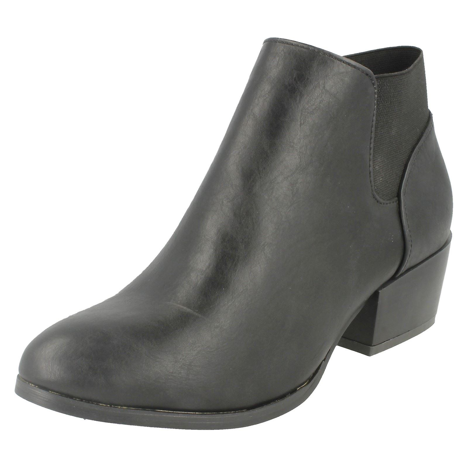 Boot Spot On Ladies Ankle F50230 Heeled wH1ZPI