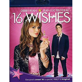 16 Wishes [BLU-RAY] USA import