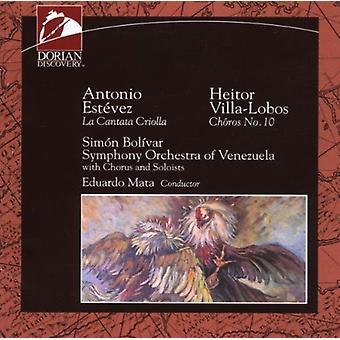 Estevez/Villa-Lobos-Est Vez: The én der Sang med Djævelen [CD] USA importen