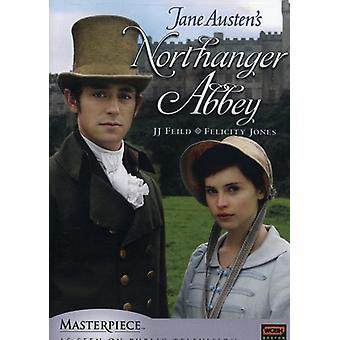 Northanger Abbey [DVD] USA importerer