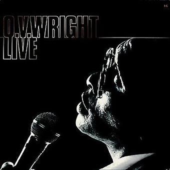 Ov Wright - Live [Vinyl] USA import