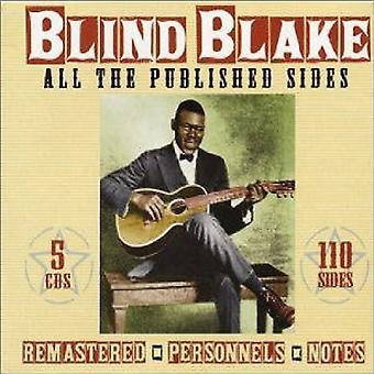 Blinde Blake - alle offentliggøres siderne [CD] USA importerer