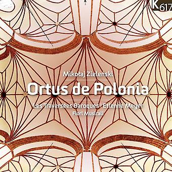Zielenski / Meyer / Les Traversees steekt - Ortus De Polonia [CD] USA import