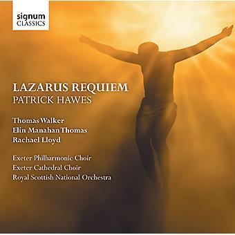 Patrick Hawes - Patrick Hawes: Lazarus Requiem [CD] USA import