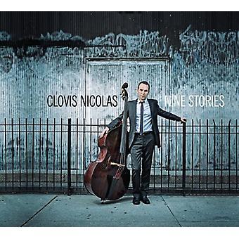 Clovis Nicolas - ni fortællinger [CD] USA importerer