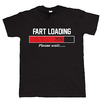 Vectorbomb, Fart Loading, Mens Funny Rude Tshirt (S to 5XL)