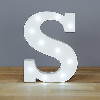 Письмо LED - Yesbox светильники букву S