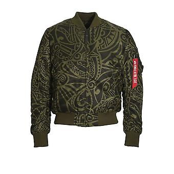 Giacca Bomber MA-1 VF Tonga ALPHA INDUSTRIES | Verde scuro