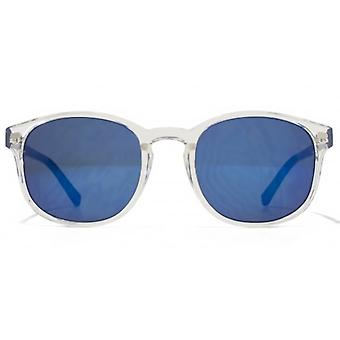American Freshman Plastic Preppy Sunglasses In Clear