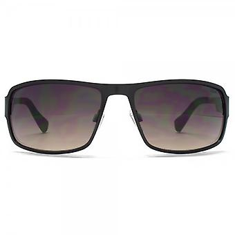 SUUNA Buffalo Rectangle Flatsheet Sunglasses In Matt Black Carbon Fibre