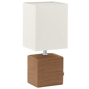 Eglo MATARO keramiske Cube bordlampe