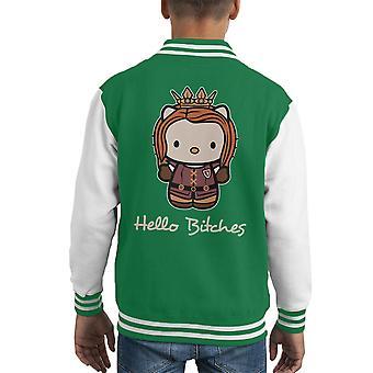 Hallo Kitty Hündinnen Game Of Thrones Kid Varsity Jacket