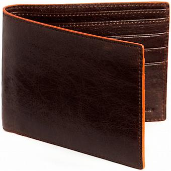 Simon Carter bord cannelle Jeans Wallet - Brown