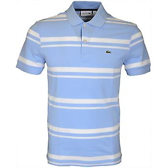 Lacoste Ph5021 Fit Regular Stripe himmelsblå Polo