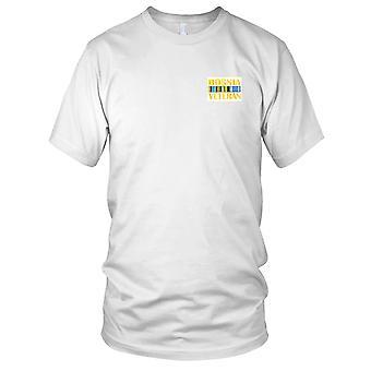 Bosnien-Veteran Ribbon gestickt Patch - Kinder T Shirt