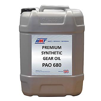 HMTG150 Premium Synthetic Industrial Gear Oil PAO 680 - 25 Litre Plastic