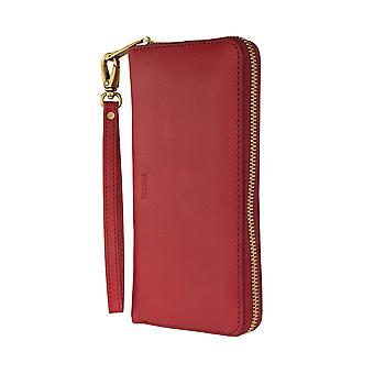 FOSSIL ladies wallet purse coin purse with RFID-chip protection red 6553