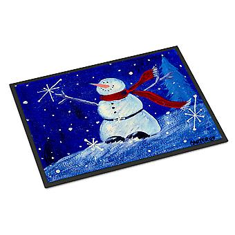 Happy Holidays Snowman Indoor or Outdoor Mat 24x36
