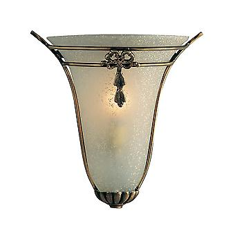 Searchlight 30002 Rustic Bronze Wall Light