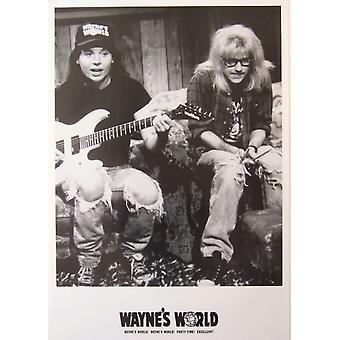 Waynes World Party Time Poster Poster Print