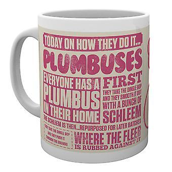 Rick e Morty Plumbus come lo fanno tazza