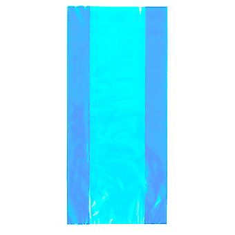 Unique Party Cello Treat Bags With Ties (Pack Of 30)