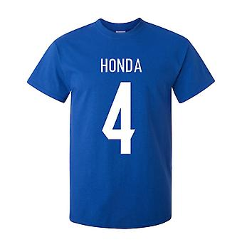 Keisuke Honda Japan held T-shirt (blauw)